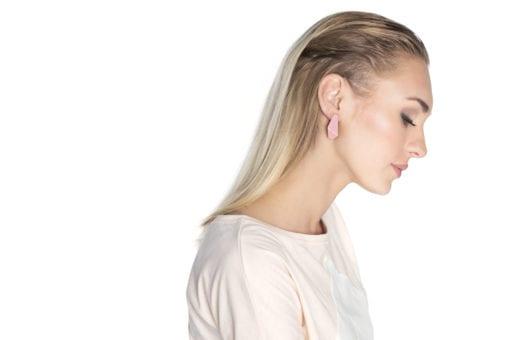 Lisa Kroeber folded earrings