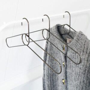 PUIK metallic clothes hangers