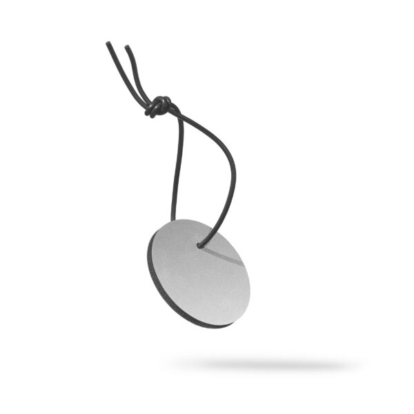 Round March reflector in silver