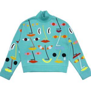 Mint Faces sweatshirt